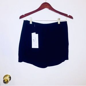 NWT Lacoste: Size 4 Black Button Shorts